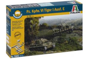 Fast Assembly Pz.Kpfw.VI TIGER I Ausf.E (1:72) - 7505
