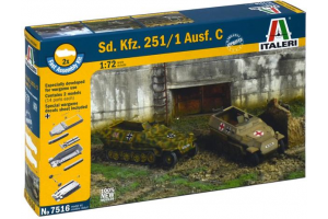Fast Assembly military 7516 - Sd.Kfz.251/1 Ausf.C (1:72)