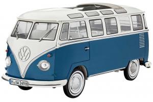 Plastic ModelKit auto 07009 - VW Typ 2 T1 Samba Bus (1:16)