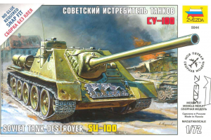 Snap Kit - Soviet Tank Destroyer SU-100 (1:72) - 5044