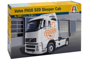 Model Kit truck 3907 - VOLVO FH16 520 SLEEPER CAB (1:24)