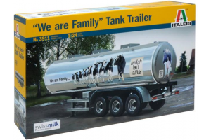 """CLASSIC TANK TRAILER """"We are family"""" (1:24) - 3911"""
