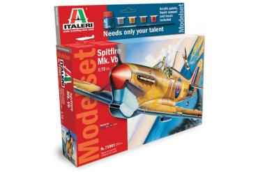 Model Set letadlo 71001 - 1:72 Spitfire Mk. Vb. (1:72)