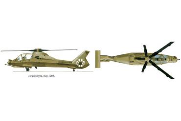 Model Set vrtulník 71058 - 1:72 RAH-66 COMANCHE (1:72)