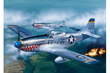 Model Set letadlo 71086 - 1:72 F51 D Mustang (1:72)