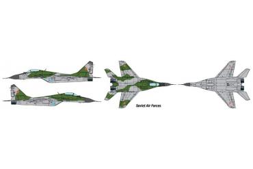 "Model Set letadlo 71184 - 1:72 MIG-29A ""FULCRUM"" (1:72)"