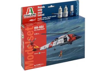 Model Set vrtulník 71346 - 1:72 HH-60J COAST GUARD (1:72)