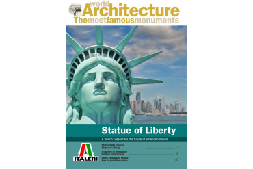 World of Architecture budova 68002 - THE STATUE OF LIBERTY (29,0 cm)