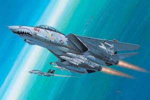 Plastic ModelKit letadlo 04049 - F-14D Super Tomcat (1:144)
