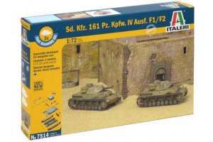 Sd.Kfz.161 Pz.Kpfw.IV Ausf. F1/F2 (1:72) - 7514