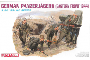 Model Kit figurky 6058 - GERMAN PANZERJÄGERS (1:35)
