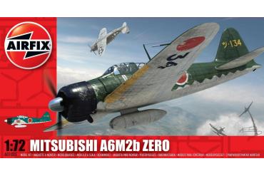 Classic Kit letadlo A01005 - Mitsubishi Zero A6M2b (1:72)