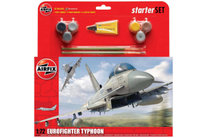 Starter Set letadlo A50098 - Eurofighter Typhoon (1:72)