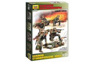 Model Kit figurky 3613 - German Sturmpioniere WWII (re-release) (1:35)