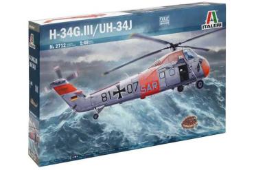 Model Kit vrtulník 2712 - UH-34J (1:48)