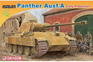 Model Kit tank 7499 - Sd. Kfz. 171 PANTHER Ausf.A EARLY PRODUCTION (1:72)