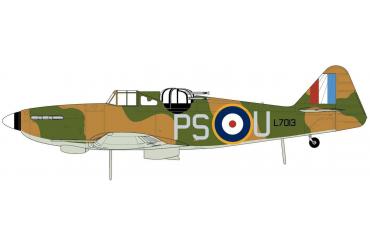 Classic Kit letadlo A02069 - Boulton Paul Defiant (1:72) - nová forma