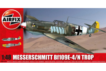 Classic Kit letadlo A05122A - Messerschmitt Bf109E- Tropical (1:48)
