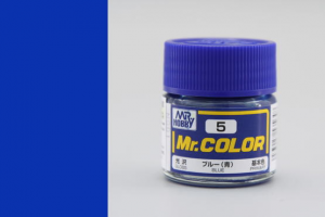 Mr. Color - C005: Modrá lesklá (Blue Gloss)