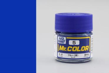 Mr. Color - C005: Modrá lesklá (Blue Gloss)