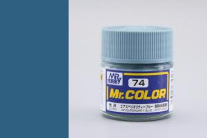 Mr. Color - C074: Modrá lesklá