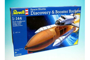 Space Shuttle Discovery+Booster Rockets (1:144) - 04736