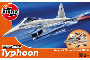 Quick Build letadlo J6002 - Eurofighter Typhoon