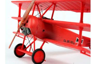 ModelSet letadlo 64116 - FOKKER DR.1Triplane (1:72)