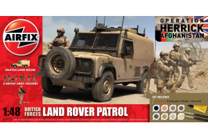 Gift Set - British Forces - Land Rover Patrol (1:48) - A50121