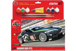 "Starter Set auto A55306 - Jaguar XKRGT3 ""Fantasy Scheme"" (1:32)"