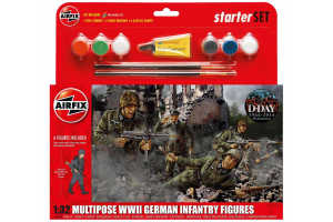 German Infantry Multi-Pose (1:32) - A55210
