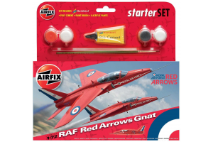 Red Arrows Gnat (1:72) - A55105