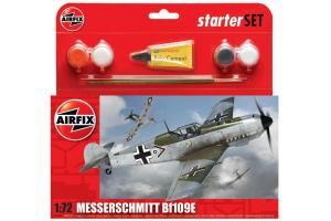 Messerschmitt Bf109E3 (1:72) - A55106