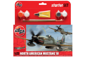 North American P-51D Mustang (1:72) - A55107