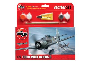 Starter Set letadlo A55110 - Focke Wulf Fw190A-8 (1:72)