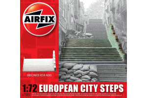 Classic Kit budova A75017 - European City Steps (1:72)