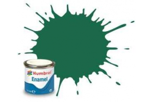 Humbrol barva email AA0326 - No 30 Dark Green - Matt - 14ml
