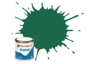 Humbrol barva email AA0326 - No 30 Dark Green - Matt - 14ml