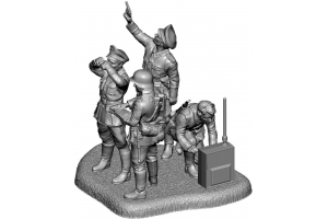 Wargames (WWII) figurky 6133 - German HQ (1:72)