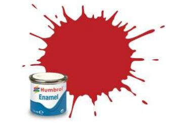 Humbrol barva email AA0655 - No 60 Scarlett - Matt - 14ml