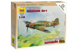 "Wargames (WWII) letadlo 6173 - British Fighter ""Hurricane Mk-1"" (1:144)"