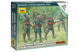 Wargames (WWII) figurky 6178 - German Regular Infantry 1939-43 (1:72)