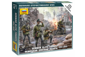 Wargames (WWII) figurky 6180 - German Elite Troops 1939-43 (1:72)