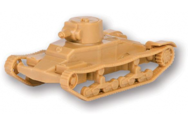 "Wargames (WWII) tank 6191 - British Light Tank ""Matilda Mk I"" (1:100)"