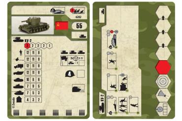 Wargames (WWII) tank 6202 - Soviet Tank KV-2 (1:100)