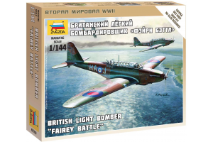 Wargames (WWII) letadlo 6218 - British Light Bomber Fairey Battle (1:144)