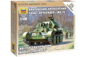Wargames (WWII) tank Z6227 - British Tank MK IV Cruiser (1:100)