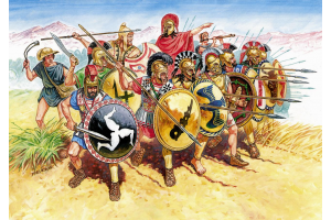 Wargames (AoB) figurky 8005 - Greek Infantry V-IV B. C. (1:72)