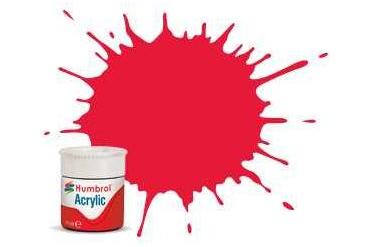 Humbrol barva akryl AB0238 - No 238 Arrow Red - Gloss - 12ml