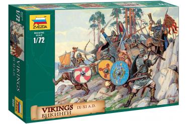 Wargames (AoB) figurky 8046 - Vikings (1:72)